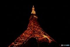 東京タワー  踏ん張る!