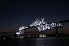 東京ゲートブリッジ 点灯