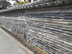 築地塀 4855  谷中観音寺