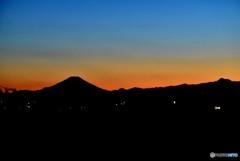富士山 0237 12月11日 夕方
