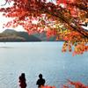 榛名湖湖畔の秋