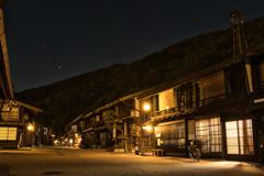宵闇の宿場町