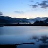 秋元湖(夜明け前)
