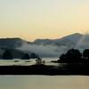 秋元湖(朝焼け)