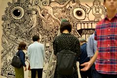 アートに集まる人々