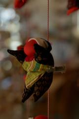吊るし雛の海女さん