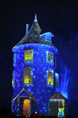 星降るムーミン屋敷