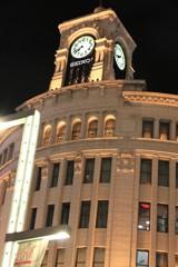 夜の東京銀座、ぶら写んぽ その3