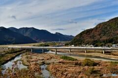 新幹線の見える風景