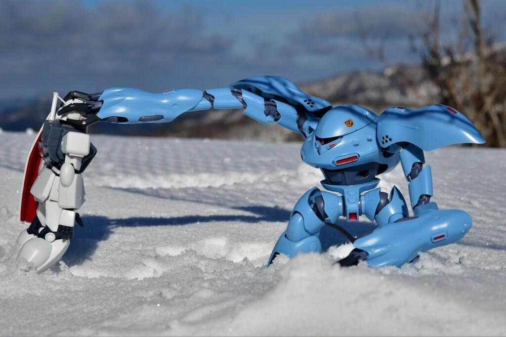 雪上の戦い2