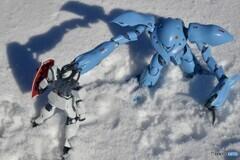 雪上の戦い
