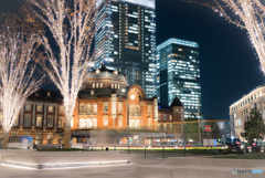 クリスマス前の東京駅