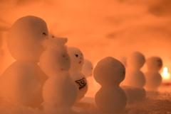 雪だるま一家