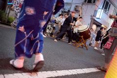 杉大門通り盆踊り 5