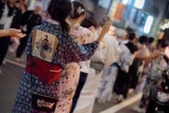 杉大門通り盆踊り 2