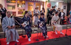 杉大門通り盆踊り 6