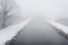 フランスの北の冬