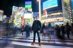 Night with Quentin - Shibuya Crossing