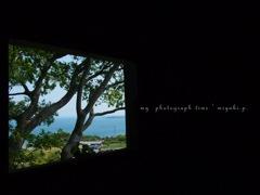 窓から見える風景*
