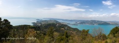 前島展望台からの風景*