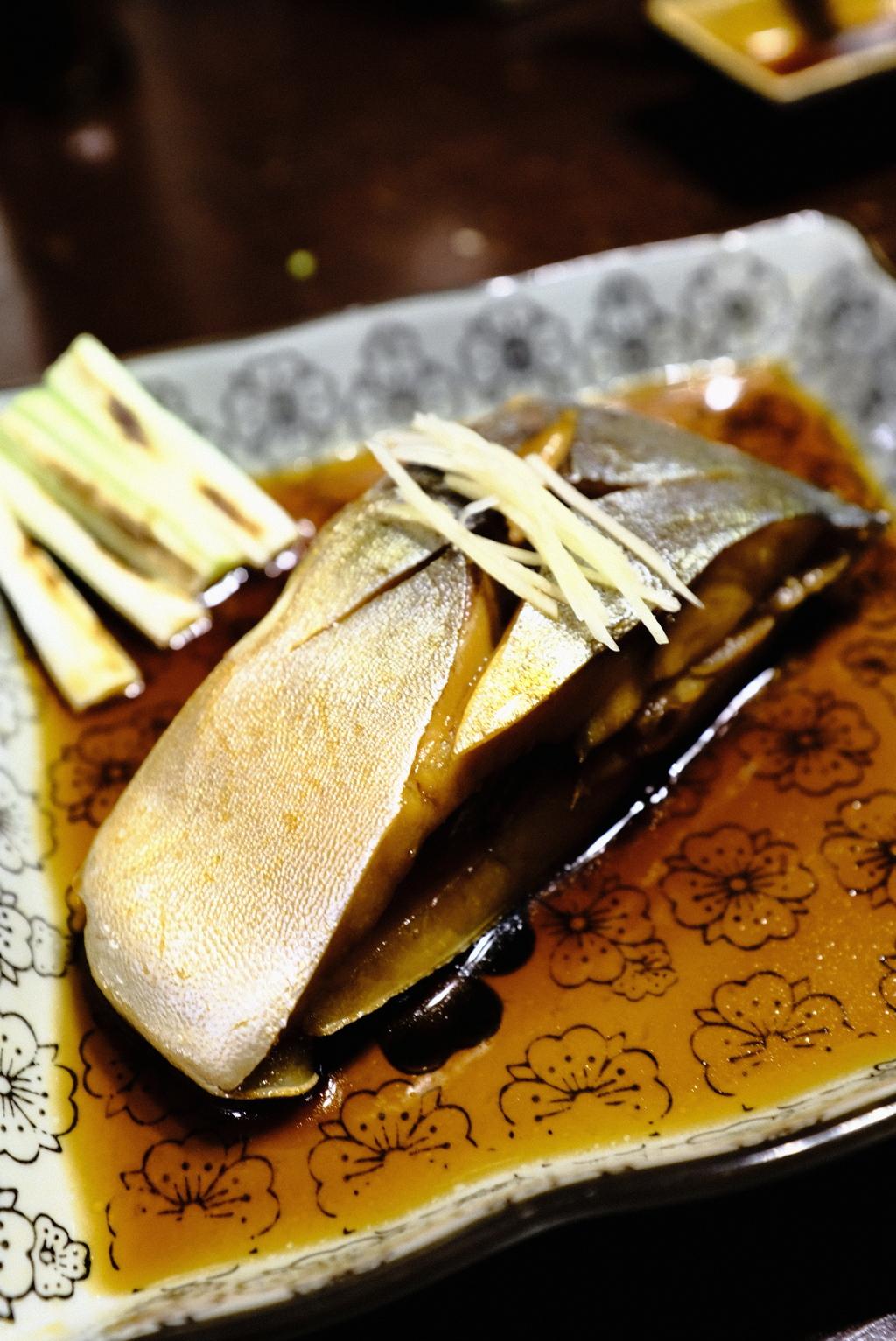 日本レストランにて